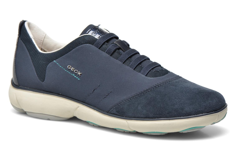 Sneakers Geox D NEBULA C D621EC Blauw detail