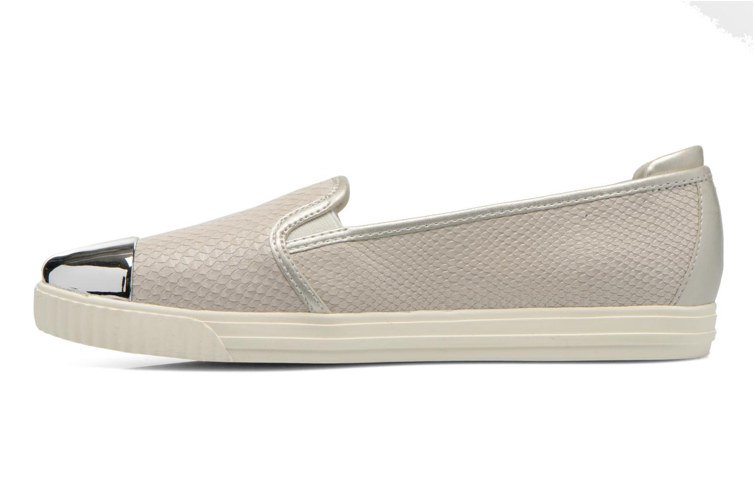 Loafers Geox D AMALTHIA D D621MD Grey front view