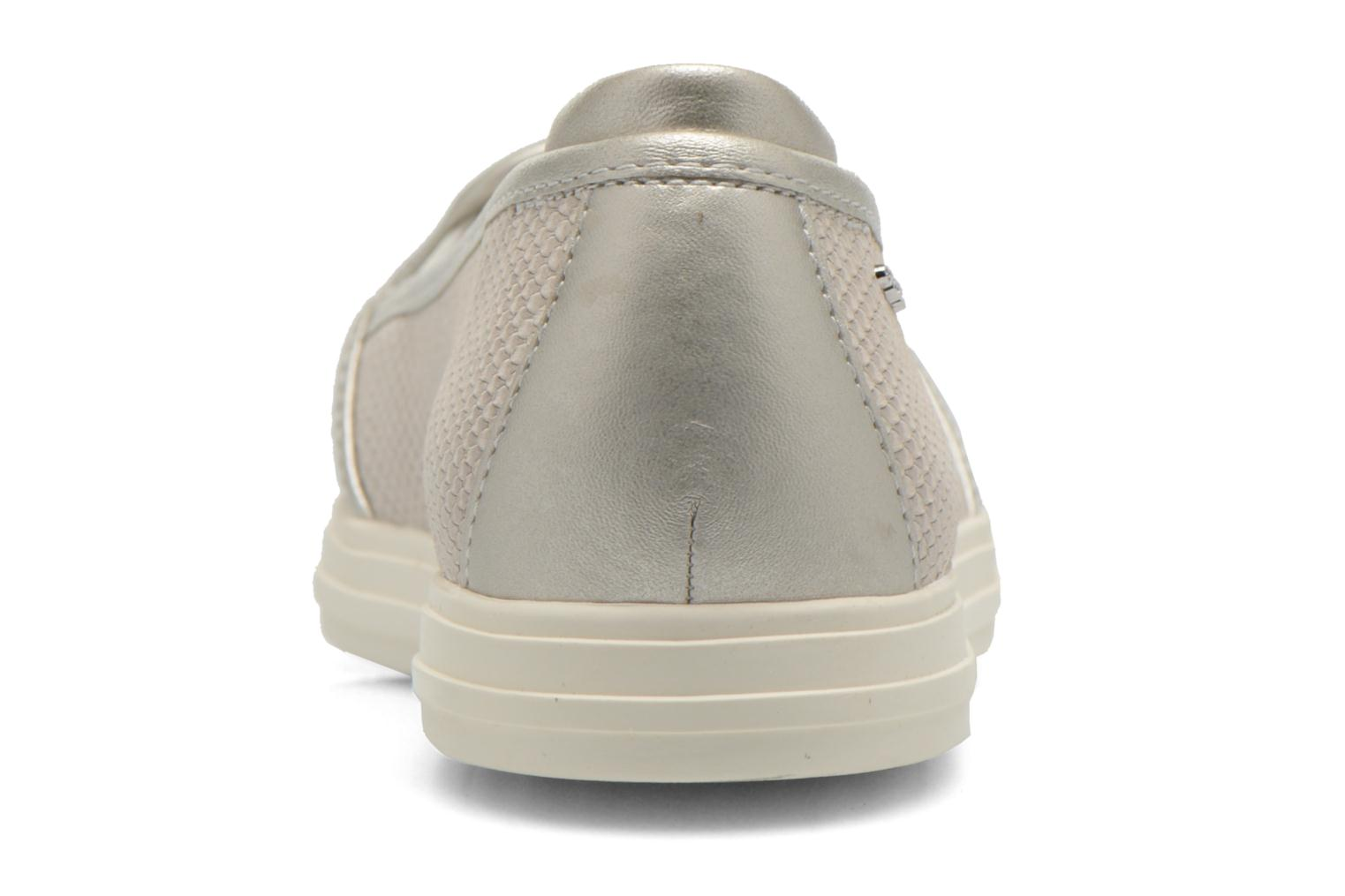 Loafers Geox D AMALTHIA D D621MD Grey view from the right
