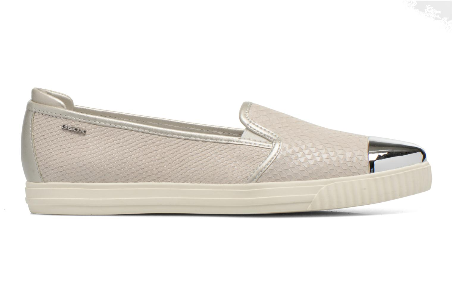Loafers Geox D AMALTHIA D D621MD Grey back view