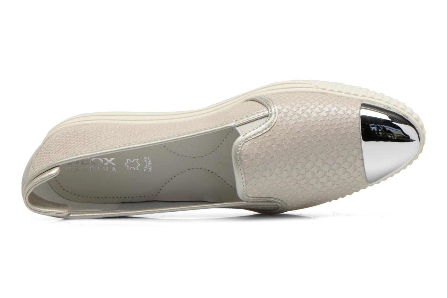 Loafers Geox D AMALTHIA D D621MD Grey view from the left