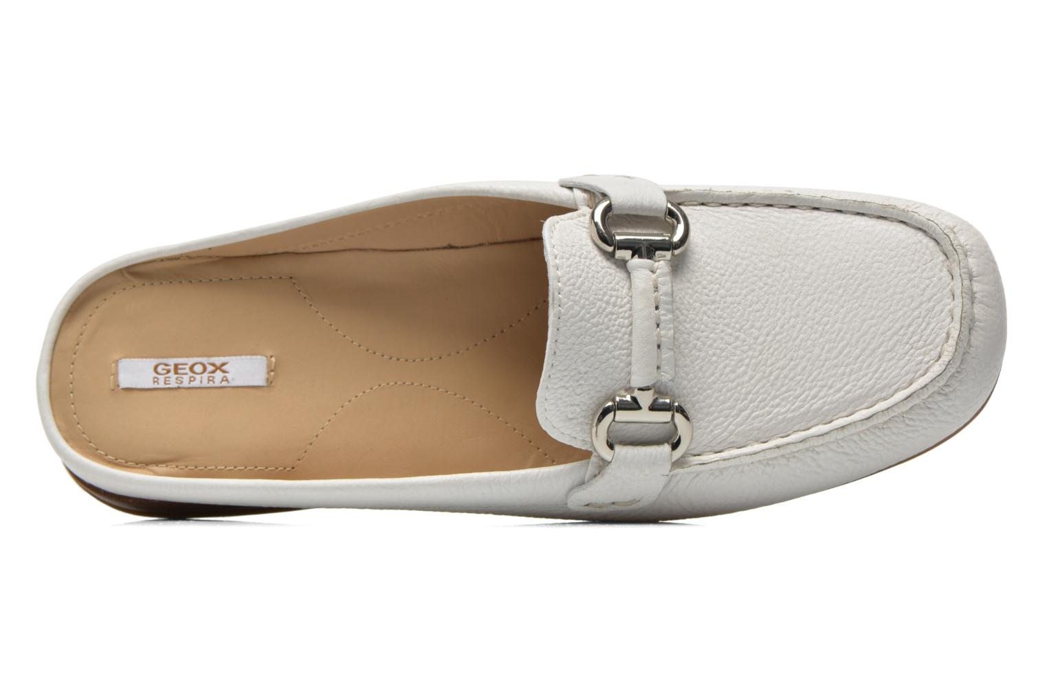 Mules & clogs Geox D EURO C D6245C White view from the left