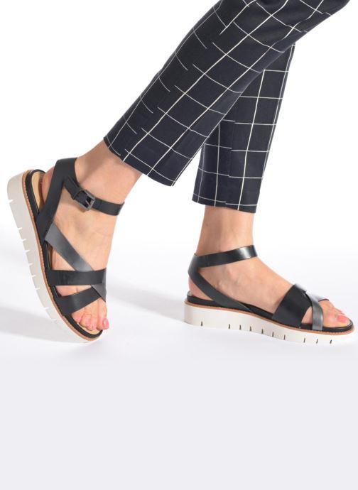 Geox D DARLINE B D621YB (schwarz) Sandalen bei