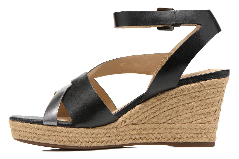 Sandali e scarpe aperte Geox D SOLEIL C D62N7C Nero immagine frontale