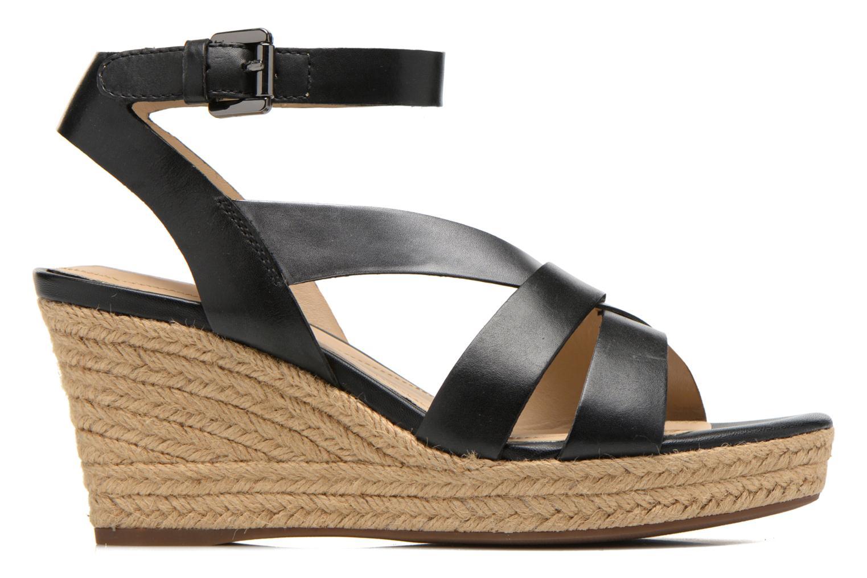 Sandali e scarpe aperte Geox D SOLEIL C D62N7C Nero immagine posteriore