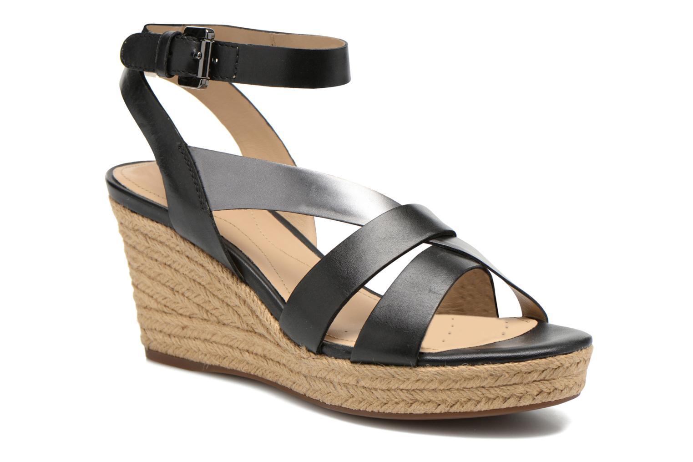 Sandali e scarpe aperte Geox D SOLEIL C D62N7C Nero vedi dettaglio/paio