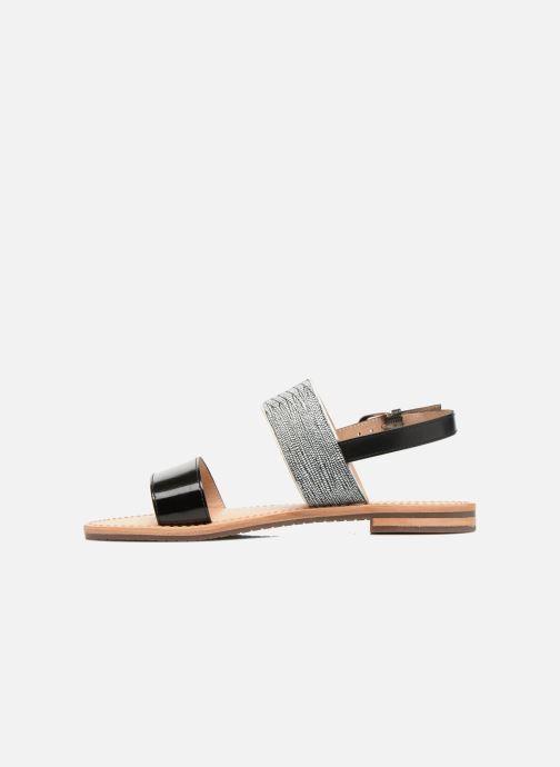 Sandales et nu-pieds Geox D SOZY A D622CA Noir vue face