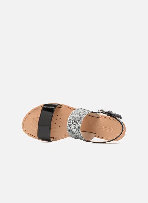 Sandales et nu-pieds Geox D SOZY A D622CA Noir vue gauche