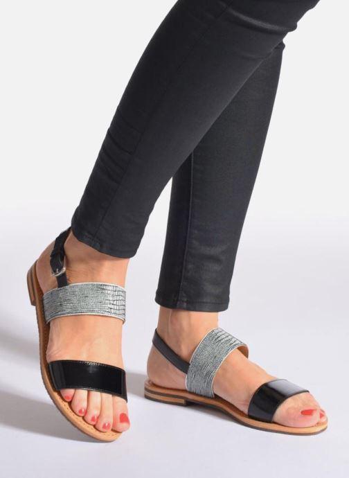 Sandali e scarpe aperte Geox D SOZY A D622CA Beige immagine dal basso