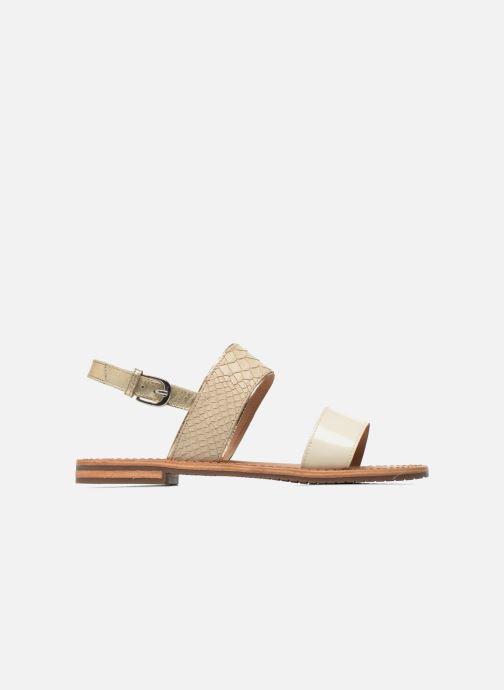 Sandali e scarpe aperte Geox D SOZY A D622CA Beige immagine posteriore