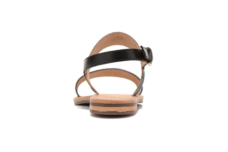 Sandales et nu-pieds Geox D SOZY A D622CA Noir vue droite
