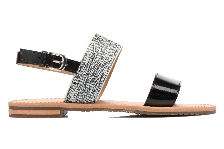 Sandales et nu-pieds Geox D SOZY A D622CA Noir vue derrière