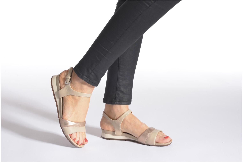 Sandali e scarpe aperte Geox D FORMOSA C D6293C Nero immagine dal basso