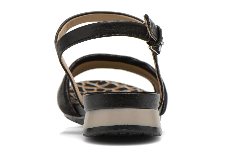 Sandali e scarpe aperte Geox D FORMOSA C D6293C Nero immagine destra