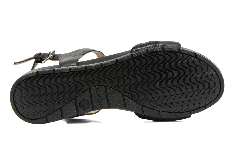 Sandali e scarpe aperte Geox D FORMOSA C D6293C Nero immagine dall'alto