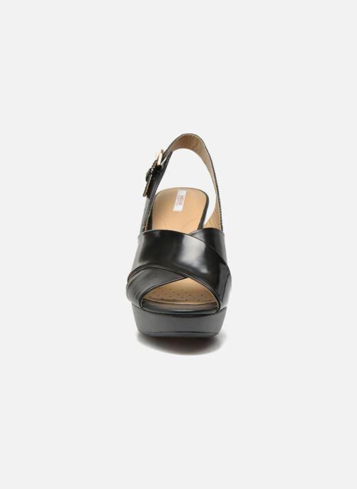 Sandali e scarpe aperte Geox D HERITAGE B D62R1B Nero modello indossato 6ff4a55da8a