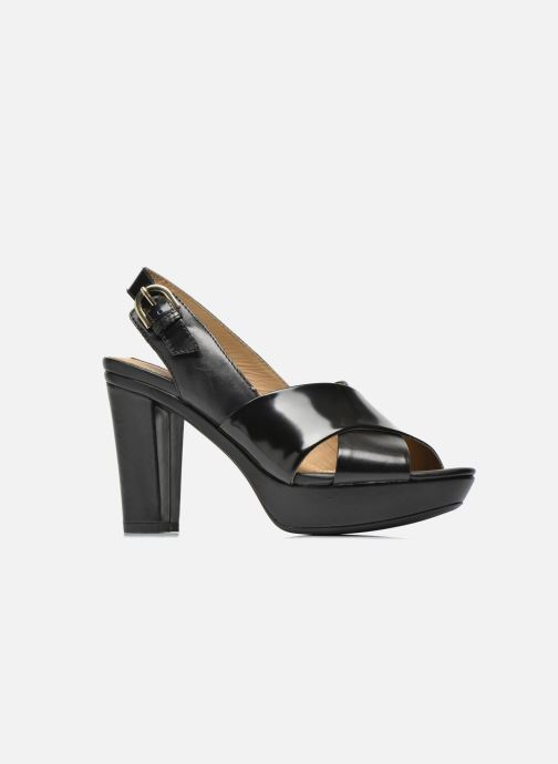 Sandali e scarpe aperte Geox D HERITAGE B D62R1B Nero immagine posteriore 4005a1c3070