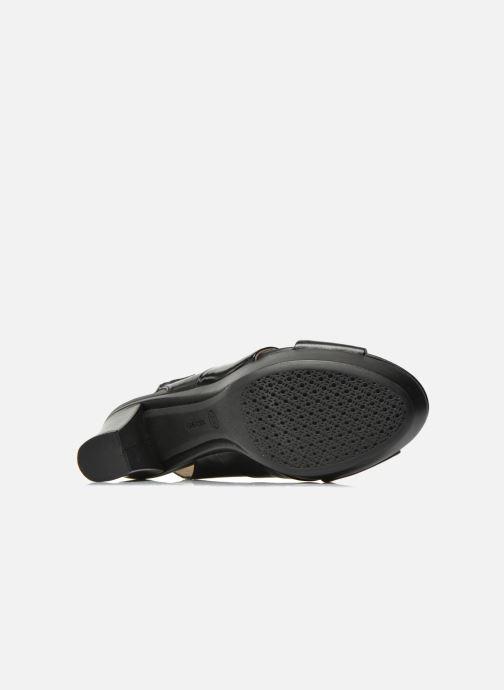 Sandali e scarpe aperte Geox D HERITAGE B D62R1B Nero immagine dall alto adddf890373