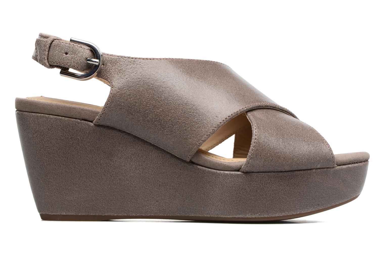 Sandali e scarpe aperte Geox D THELMA B D62N9B Grigio immagine posteriore