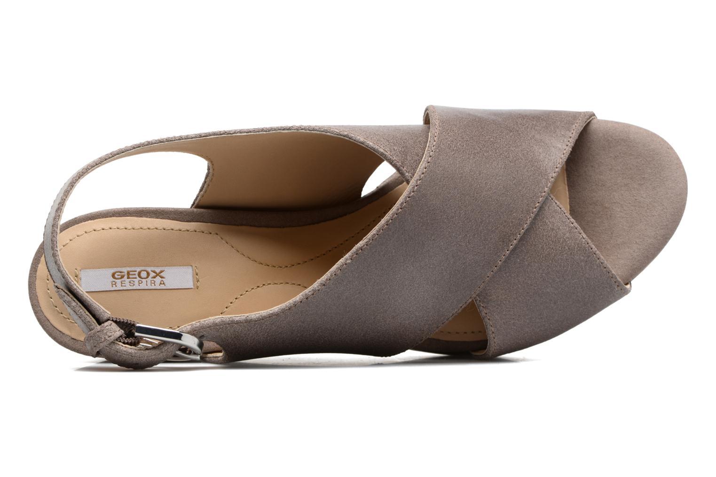 Sandali e scarpe aperte Geox D THELMA B D62N9B Grigio immagine sinistra