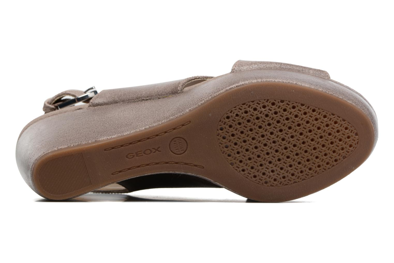 Sandali e scarpe aperte Geox D THELMA B D62N9B Grigio immagine dall'alto