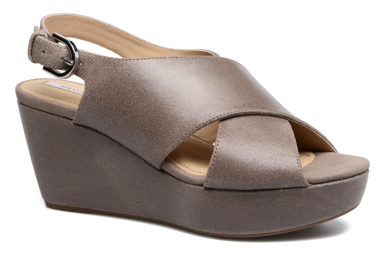 Sandali e scarpe aperte Geox D THELMA B D62N9B Grigio vedi dettaglio/paio