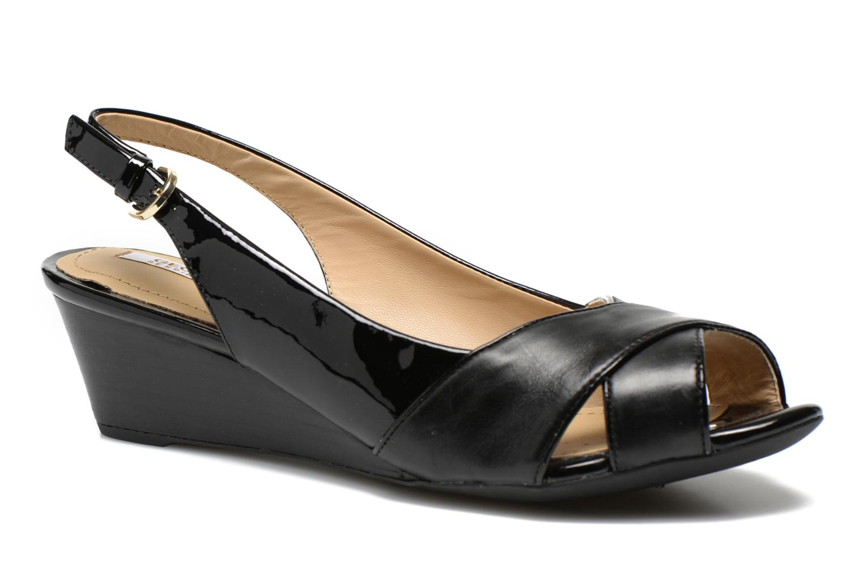 Sandales et nu-pieds Geox D FLORALIE B D62T4B Noir vue détail/paire