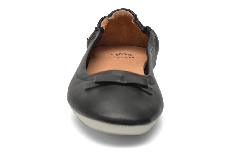 Ballerines P-L-D-M By Palladium Lovell Cash Noir vue portées chaussures