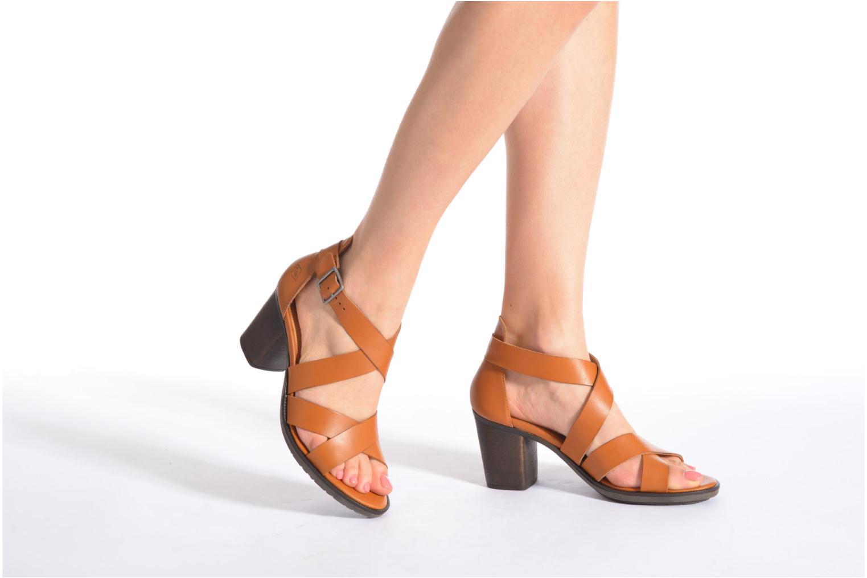 Sandales et nu-pieds P-L-D-M By Palladium Getty Frl Noir vue bas / vue portée sac