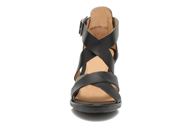Sandales et nu-pieds P-L-D-M By Palladium Getty Frl Noir vue portées chaussures