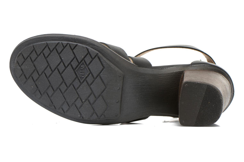 Sandales et nu-pieds P-L-D-M By Palladium Getty Frl Noir vue haut