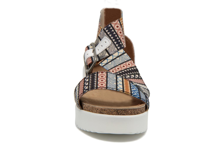 Sandales et nu-pieds P-L-D-M By Palladium Value Fts Multicolore vue portées chaussures