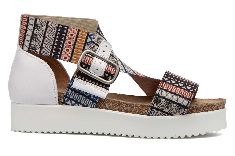 Sandales et nu-pieds P-L-D-M By Palladium Value Fts Multicolore vue derrière