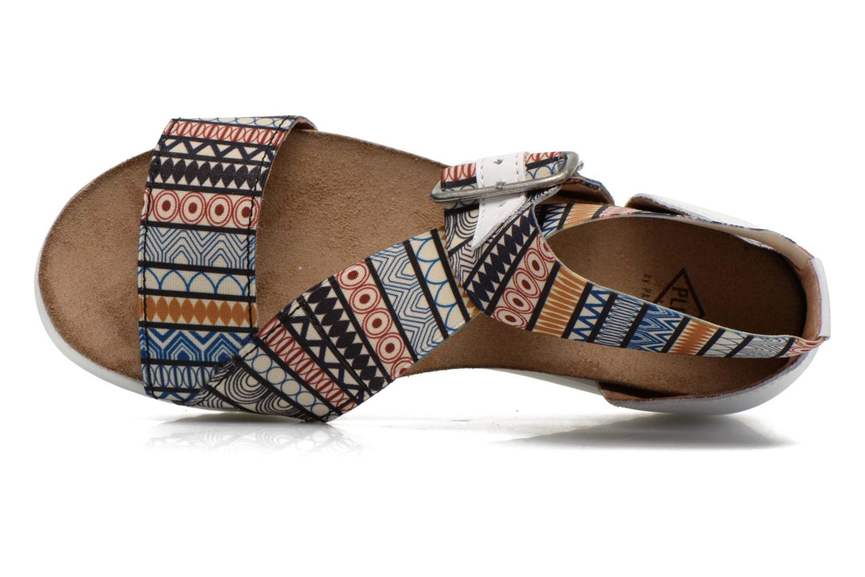Sandales et nu-pieds P-L-D-M By Palladium Value Fts Multicolore vue gauche