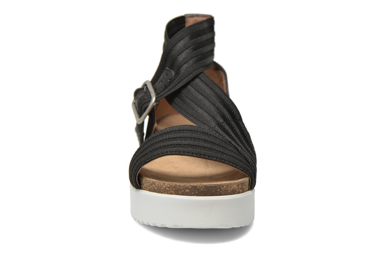 Sandales et nu-pieds P-L-D-M By Palladium Value Fts Noir vue portées chaussures