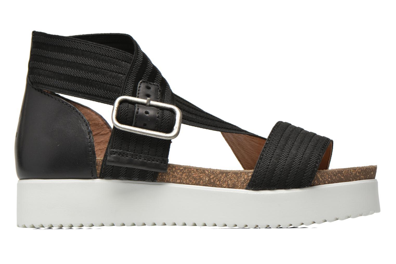 Sandales et nu-pieds P-L-D-M By Palladium Value Fts Noir vue derrière