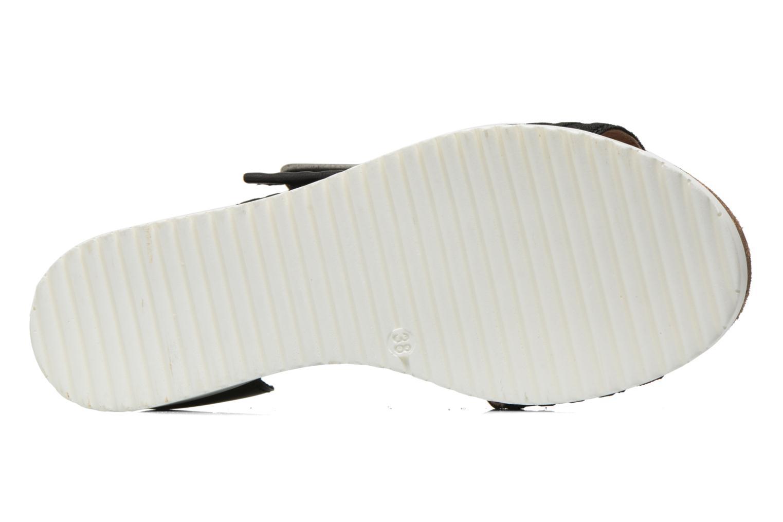 Sandales et nu-pieds P-L-D-M By Palladium Value Fts Noir vue haut