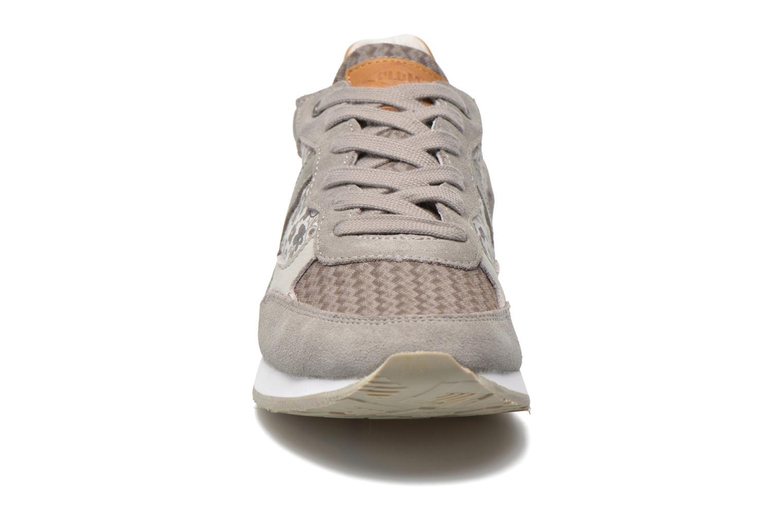 Baskets P-L-D-M By Palladium Segundo Print W Gris vue portées chaussures