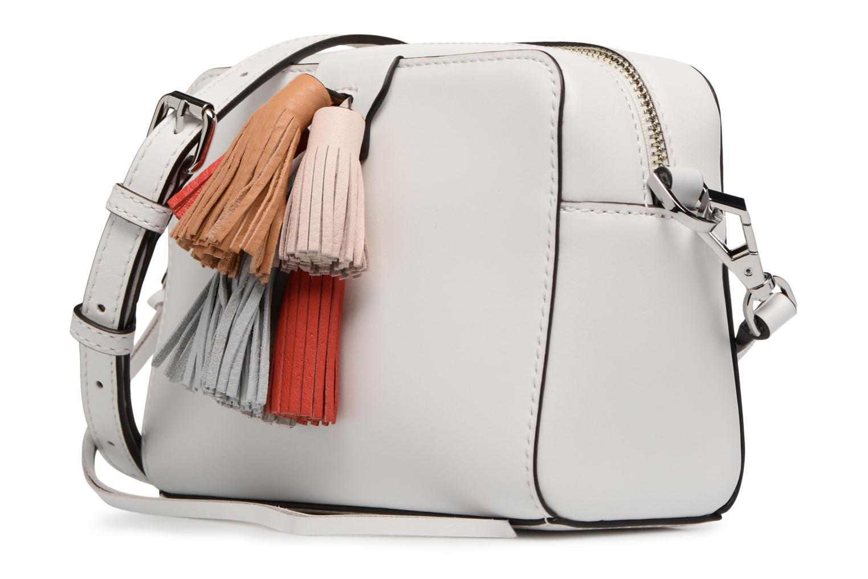 Handtaschen Rebecca Minkoff Mini Sofia Crossbody weiß schuhe getragen