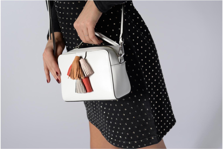 Handtaschen Rebecca Minkoff Mini Sofia Crossbody weiß ansicht von oben