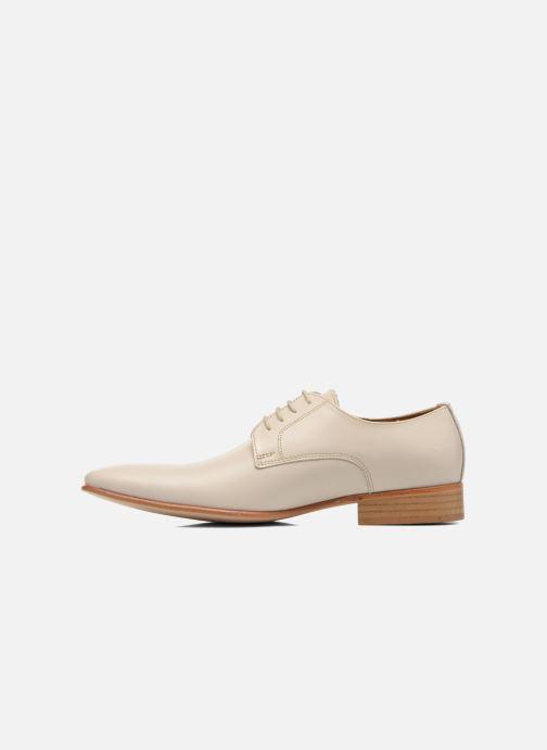 Chaussures à lacets Le Formier Greenfield Beige vue face