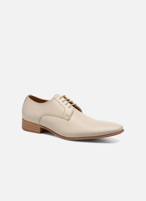 Chaussures à lacets Le Formier Greenfield Beige vue détail/paire