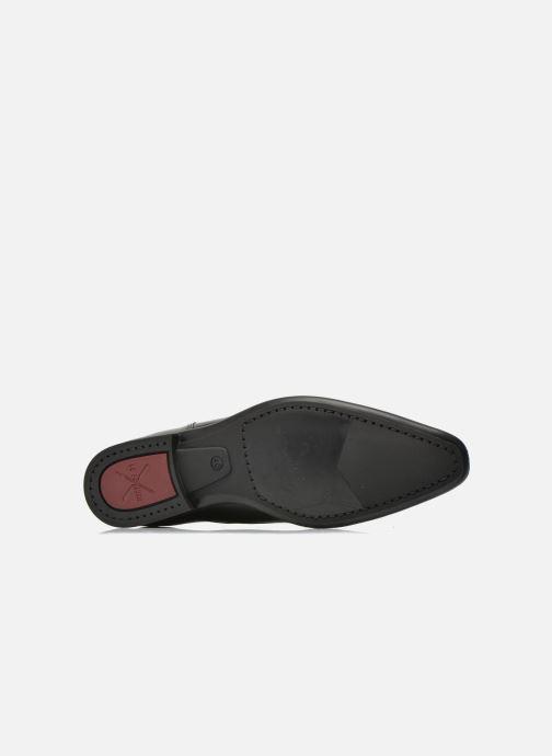 Chaussures à lacets Le Formier Flint2 Noir vue haut