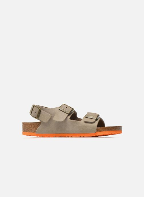 Sandales et nu-pieds Birkenstock Milano Kids Beige vue derrière