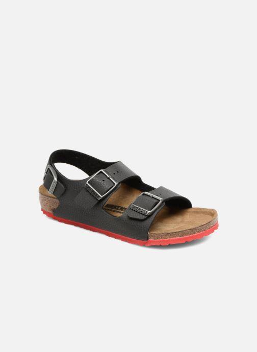 Sandales et nu-pieds Birkenstock Milano Kids Noir vue détail/paire
