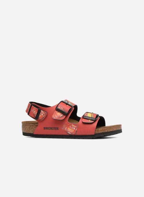 Sandales et nu-pieds Birkenstock Milano Kids Rouge vue derrière