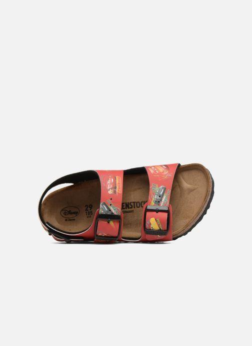 Sandales et nu-pieds Birkenstock Milano Kids Rouge vue gauche