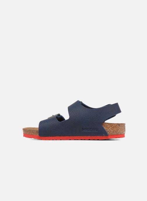 Sandali e scarpe aperte Birkenstock Milano Kids Azzurro immagine frontale