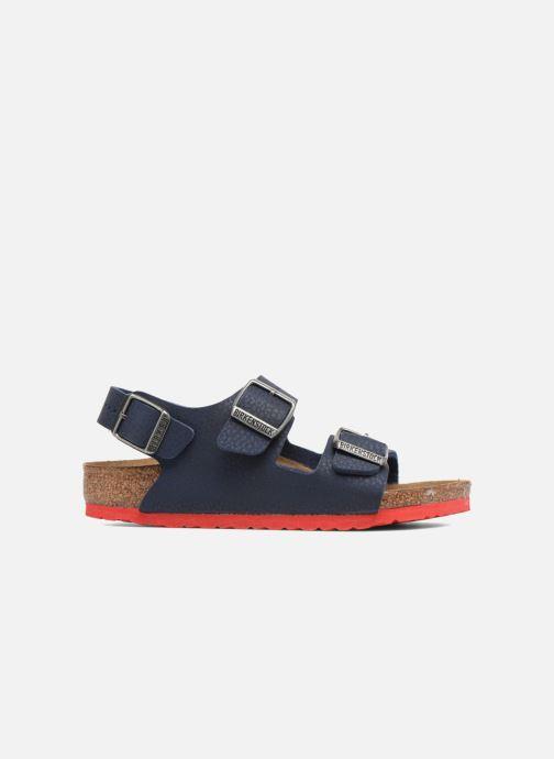 Sandales et nu-pieds Birkenstock Milano Kids Bleu vue derrière