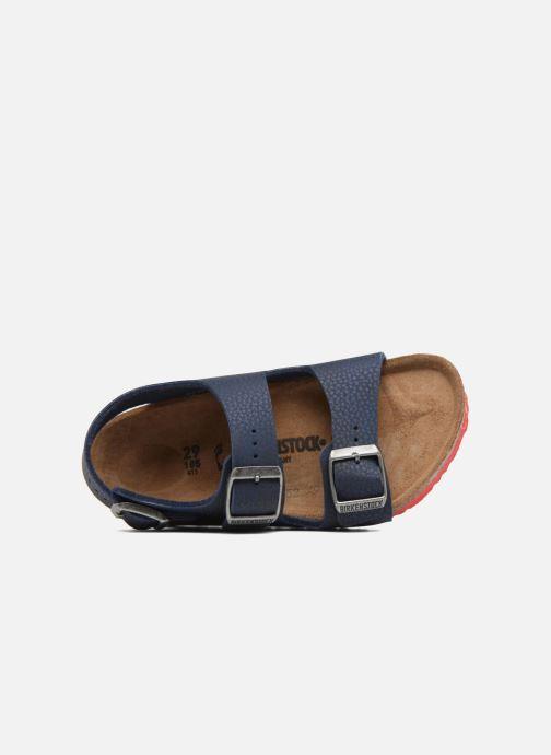 Sandales et nu-pieds Birkenstock Milano Birko Flor Bleu vue gauche